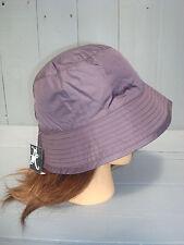 ACCESSORIZE Women/Ladies Plum/Purple Bucket Style Rain/Sun Hat One Size NEW
