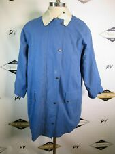 E7340 VTG Burberry Long Sleeve Chore Jacket Blue