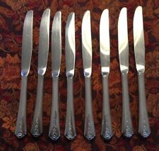 """Homes & Edwards IS Inlaid ~ 8 Knives   9 1/4"""" ~ 1949"""