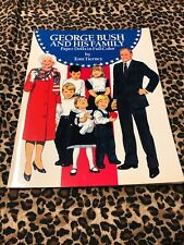 Paper Dolls Tom Tierney Uncut George Bush and His Family 1990