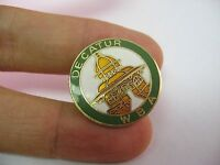 Vintage Lapel Hat Pin Pinback: DECATUR WBA