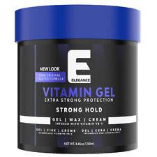 ELEGANCE VITAMIN PRO-VB5 EXTRA STRONG HAIR STYLING GEL, BLUE