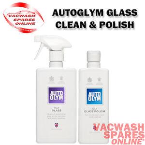 AUTOGLYM FAST GLASS - CAR GLASS POLISH - WINDOW GLASS PERSPEX CLEANING SET