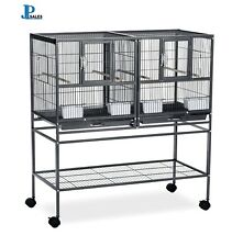Deluxe Divided Breeder Double Cage With Stand Prevue Pet Products Bird Hampton
