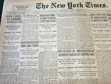 1930 APRIL 29 NEW YORK TIMES - ECLIPSE A SUCCESS FOR ASTRONOMERS - NT 5748