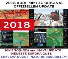 AUDI A4, A5, A6 MMI 3G UPDATE + KARTEN 2018, MMI 3G HIGH, set 2018! 8R0060884EM