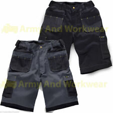 Work Shorts Tuff Multi Pocket Trade Extreme Pro Pants Triple Stitched Workwear