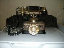 vintage, french, corded telephone
