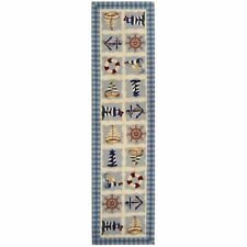 Safavieh Chelsea Sailor Ivory Wool Runner 2' 6 x 12'