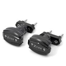 Motorcycle Crash Pad Protectors For KAWASAKI Z750 07-12 Z750R Frame Slider Black