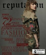 SWIFT TAYLOR REPUTATION DELUXE EDITION VOL.2 CD+GIORNALE NUOVO SIGILLATO