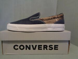 CONVERSE Men's One Star CC Slip On S/O Pro Blue Combo Shoes NIB New SIZES RARE!!