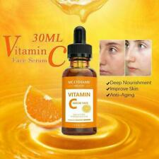 30ml Natural Vitamin C Skin, Face Serum + Anti Ageing & Hyaluronic Vit S5F2 Y6D3