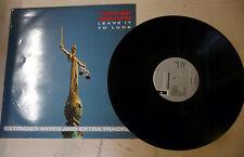 "LP 33 GIRI TOPPER HEADON ""LEAVE IT TO LUCK"" MERX201 1985 UK"
