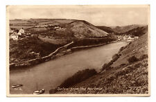Solva from the Harbour - Posted 1950 to Mr A Ness, 55 Rosabelle Street, Kirkaldy