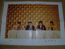 The BEATLES Hello Goodbye Genesis Publication Promo Brochure Tokyo 1966 Poster