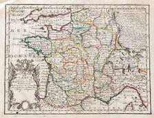 1719 - FRANCE - Carte ancienne par CHIQUET - Gravure - Antique Map
