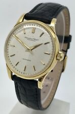 International Watch Co IWC Vintage 18K Yellow Gold Cal 852 Mens Auto Watch 1950s