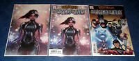 AGENTS of ATLAS war of the realms #1 1:25 VIRGIN JEE HUNG VARIANT 2nd print app