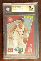 Trae Young 2018 Adrenalyn XL #C72 BGS 9.5 = PSA 10, POP 1, ROOKIE CARD!!