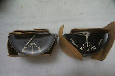 1949 Plymouth Amp & Fuel Gauge NOS Mopar 1302620 NEW Ammeter Gauges Set