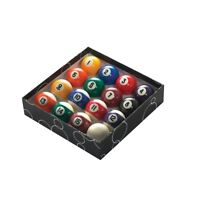 PowerGlide Classic Standard Spots And Stripes Pool Balls 51mm - Boxed