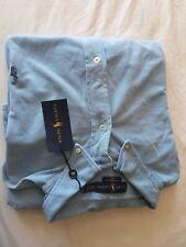 Polo Ralph Lauren Dress Shirt Featherweight Mesh Big And Tall 4LT Blue New NWT