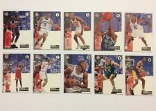COLLECTORS CHOICE UPPER DECK NBA DRAFT LOTTERY PICKS Complete Set #1-10 New