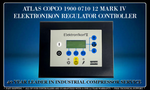 ATLAS COPCO 1900 0710 12 MARK IV PROGRAMMED WITH YOUR COMPRESSOR'S SETTINGS