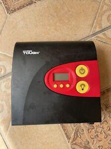 Hyper Tough Digital Tire Inflator 100 PSI 12V LED Light - S3 Compressor