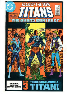 TALES OF THE TEEN TITANS #44 (1984) - GRADE 9.4 - 1ST APPEARANCE OF NIGHTWING!