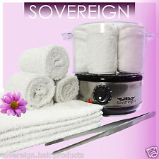 HOT TOWEL STEAMER SET IDEAL FOR BEAUTY THERAPY TREATMENTS OR BARBER SHOP SHAVING