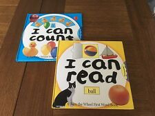 I can COUNT plus I can READ - first counting & reading books  by Keith Faulkner