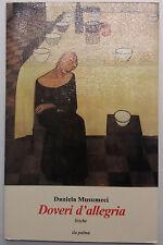 Doveri d'allegria, Liriche - Daniela Musumeci - Ila Palma - 2006 - G