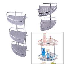 Bathroom Shower Corner Caddy Shelf Alu. Bath Storage Holder Wall Rack Organizer