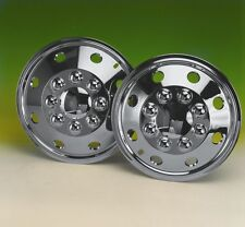 """set  4 16"""" Chrome plated deep dish wheel trims hub caps covers for Iveco Daily"""