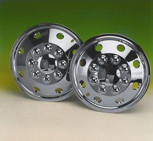 "set  4 16"" Chrome deep dish wheel trims hub caps covers for Mercedes Sprinter"
