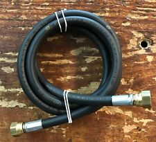 Propane, Natural Gas Flex Hose 4ft. with 3/8 Flare Fittings 1/4 I.D.