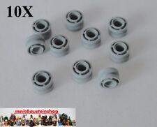 10X Lego® 42610 Technic Laufrolle Felge Rad Wheel 11X8 neues Hellgrau Gray