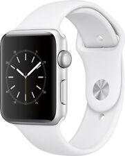 Open-Box Excellent: Apple - Apple Watch Series 2 42mm Silver Aluminum Case Wh...