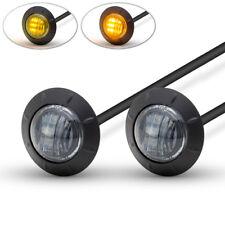 """LED de luces de marcha moto/Indicadores Señales Giro - 2"""" - 50 mm Lente Ahumado"""