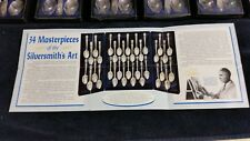 Set of 34 Commemorative U.S. Presidential William M. Rogers Silver Plated Spoons