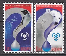 MOLDOVA 2009 **MNH SC# #  616 - 617 Animals - Preservation of Polar Regions and
