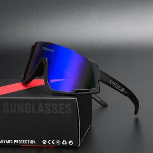Comaxsun Professional Polarized Cycling Glasses Bicycle Sports Sunglasses UV400