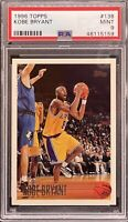 1996-97 Topps #138 Kobe Bryant Lakers RC Rookie HOF PSA 9 MINT
