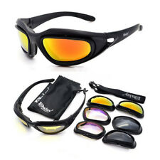 Clay Pigeon Shooting Glasses /Tactical Airsoft glasses + 4 Coloured Lenses +Case