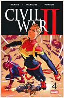 Civil War II #4 1st Immortal She Hulk 2016