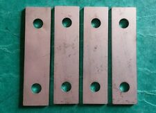 Set Of 4 Morris Minor Front Seat Fitting Spacer Flat Plates STAINLESS STEEL BMC