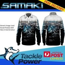 Samaki Kids Fishing Sun Shirt GT Long Sleeve UPF 50 Tackle World 10