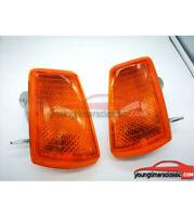 Paire de clignotant orange avant droite et gauche PEUGEOT 205 GTI /CTI